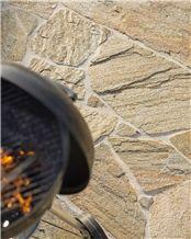 Gneiss De St Yrieix Flagstone Patio