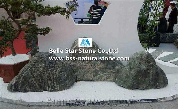 Black Marble Landscaping Rock Stone Boulders,Garden Yard Decor Stone - Black Marble Landscaping Rock Stone Boulders,Garden Yard Decor Stone