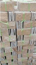 Cream Quartzite Wall Tiles Split Face, Wall Corner
