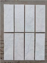 Natural White Off White Quartzite Wall Tiles Split Face
