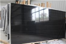 China Black Wooden Vein Marble Cut to Size, Polished Surface Offering