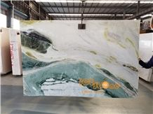 China Dreaming Green Marble, Own Quarry, Color Painting,Luxury Marble