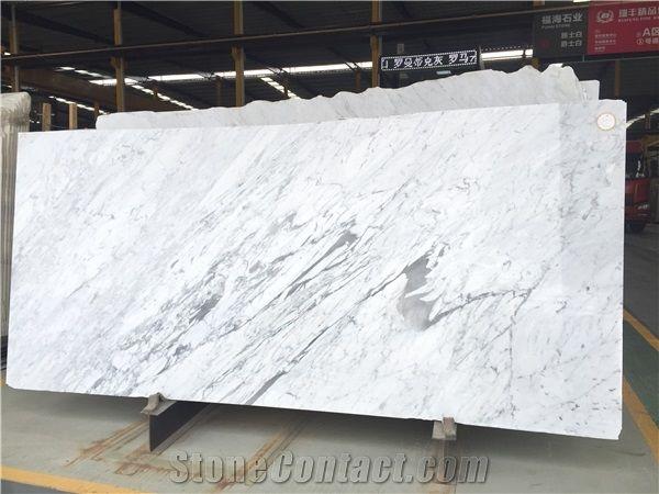 Italian White Marble Slabs Bian Carrara