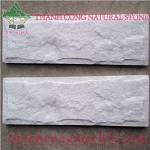 Ivory White Marble Split Wall Tiles