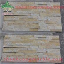 Viet Nam Yellow Marble Cultured Stone