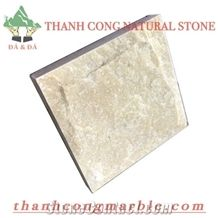 Yellow Marble Mushroom Stone