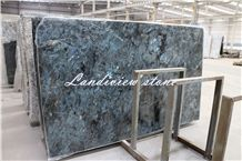 Labradorite Blue, Lemurian Blue, Peacock Blue Granite Tiles & Slabs