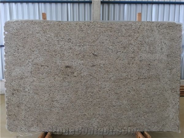 Giallo Ornamental Granite Slabs Tiles
