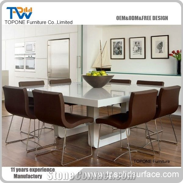 Restaurant Table Et Chaise Marble Top Dining Sets