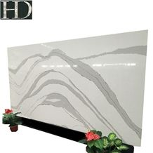Artificial Stone Polished White Quartz Slab with Best Price