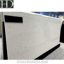 White Artificial Stone Slabs Middle White Quartz Stone Price