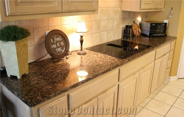 Baltic Brown Granite Kitchen Worktop Bench Top Customized Countertops From China Stonecontact Com