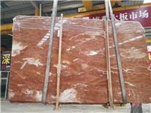 Marble Price Orange Peel Red Marble Slab and Tile