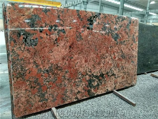 Volcano Red Granite Slabs From India 633963 Stonecontact Com