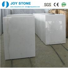 Cheap China Bianco Carrara Guangxi White Marble Polish Slabs Flooring Tiles