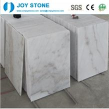 Cheap Guangxi White Marble Tiles with Black Viens Slabs Floor Tiles