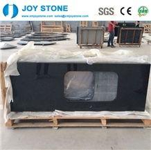 Cheap Polished G684 Chinese Black Public Bathroom Granite Countertops