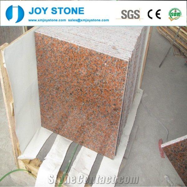 External Non Slip Kitchen Toilet Granite G562 Floor Tile Xiamen