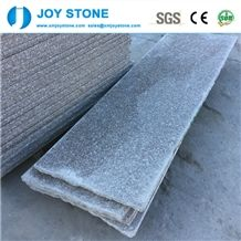 Rounded and Honed Edge Flamed Chinese Granite G664 Stair Tiles