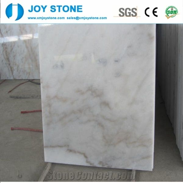 Wholesale Guangxi White Marble Polished Slabs Wall Floor Tiles Cheap