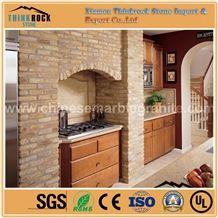 Beige Brick Faux Stone Wall Panels