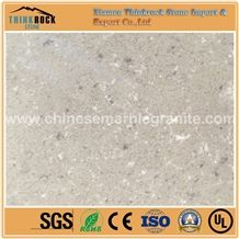 China Beige Single Grey Quartz Panels for Wall Coverings,Tabletops