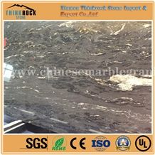 Edge-Finished Cosmos Black Granite