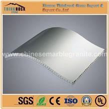 Laminated Curved Aluminum Honeycomb Panels