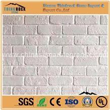 White Bricks Veneer Faux Stone Siding Panel