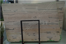 China Pamir Cloud Grey/Pink Marble Slab Tiles for Reception Vanity Top