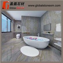 Magic Seaweed Green Marble for Bathroom Design