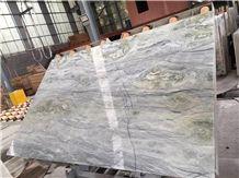 Magic Seaweed Marble Tiles, White Marble Tiles
