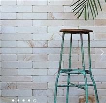 Palimanan Light Sandstone Tumbled Wall Tiles