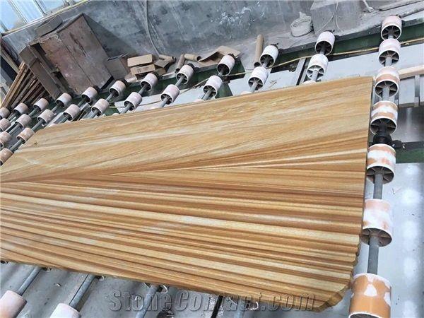 Australian Wooden Sandstone For Walling Tile Wall Covering