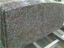 Cheap Chinese Peach Red Granite G687 for Bench Tops Countertops