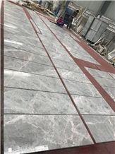 Hot Sale Hermes Grey Marble Tiles, Grey Polished Marble Flooring Tile