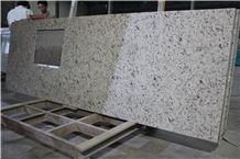 Imported Rose White Granite Bar Top,Brazil White Granite Kitchen Tops