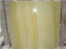 Super Quality Onyx Composited Tile, Yellow & Green & White Onyx