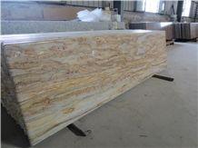 Yellow River Granite Kitchen Countertops,Golden River Granite Bar Top