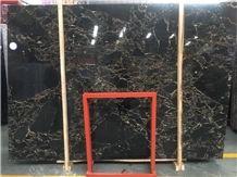 Athens Gold Portoro Marble Slabs&Tiles,Vendome Noir,Portoro Argento