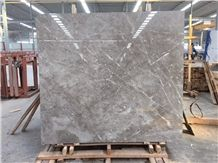 Dora Ash Cloud Grey Marble,,Ice Silver Spider Marten Marble Slab Tiles