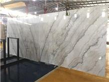 Guangxi White Marble Slab,China Carrara,Ivory Jade,Kwong Sal White
