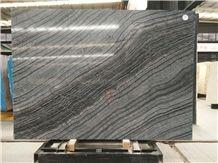 Silver Wave Brown Marble,Antique,Black Wood,Ancient Wood Marble Slab