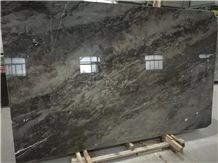 Tesla Brown Fossil Marble Slabs