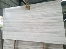 White Wood Marble Slab,Wooden Grain,China Serpegiante,Striato Grigio