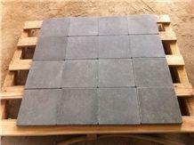 China Zhangpu Grey Basalt & Bluestone Tumbled Pavers and Cobbles