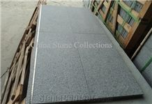 G654 China Grey Granite Padang Dark Sesame Grey Granite Tiles & Slabs