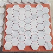 Italy Bianco Carrara White Tiles & Mosaic for Interior Decoration