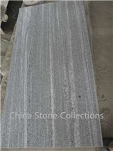 Nero Santiago G302 Wood Vein Grey Granite Biasca Gneiss Flooring Tiles