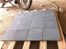 Zhangpu Grey Basalt Black Basalt Bluestone Tumbled Pavers & Cobbles